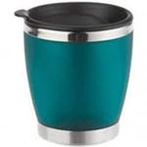 Термокружка Emsa City Cup 0.2л, корпус-пластик, колба-сталь, тепло 1ч, холод 2ч, цвет-зеленый матовый (504841)