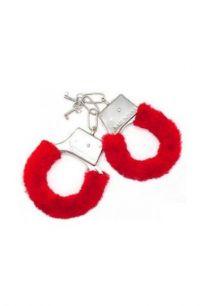 Игровые наручники красные