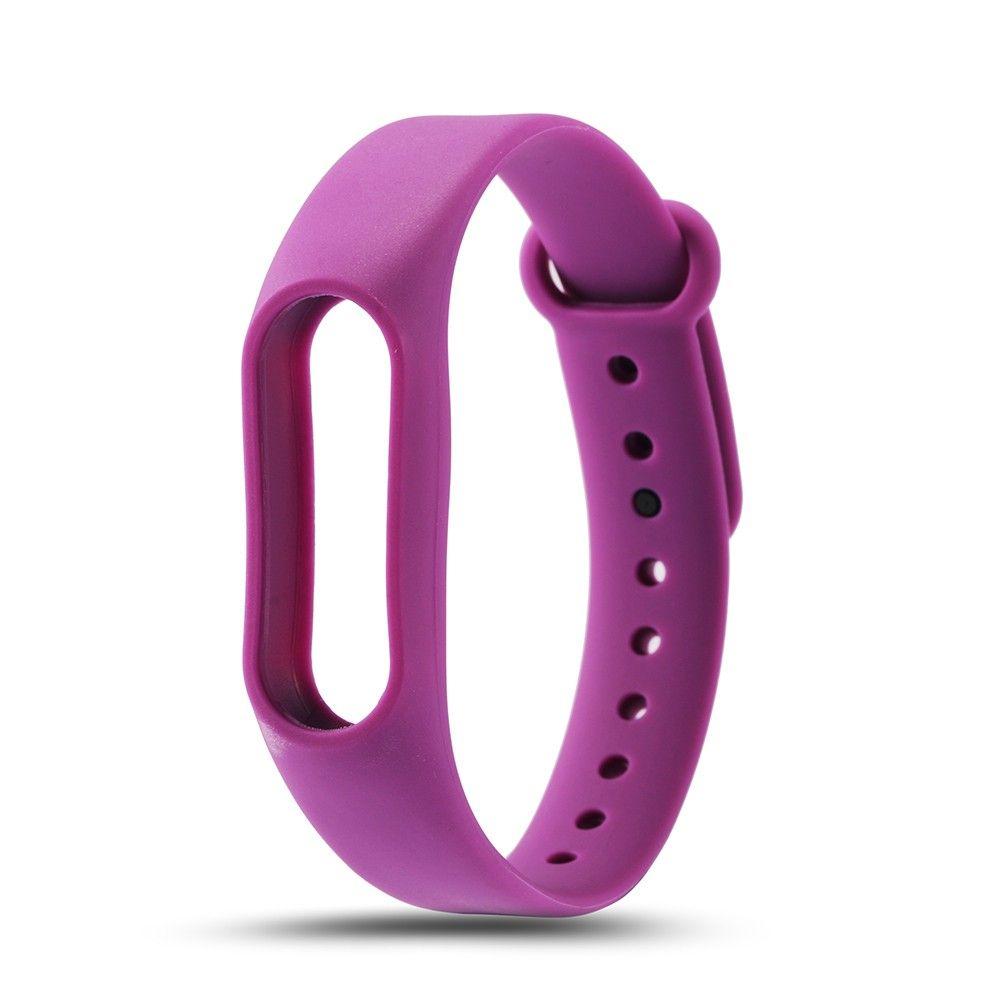 Сменный ремешок для фитнес-браслета  Xiaomi Mi Band 2 (Фиолетовый)