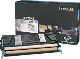 Оригинальный тонер-картридж Lexmark C5222KS C522N/524