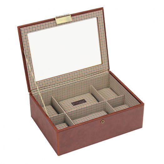 Шкатулка для хранения стандартных 8 часов или браслетов LC Designs Stuckers -men 73232