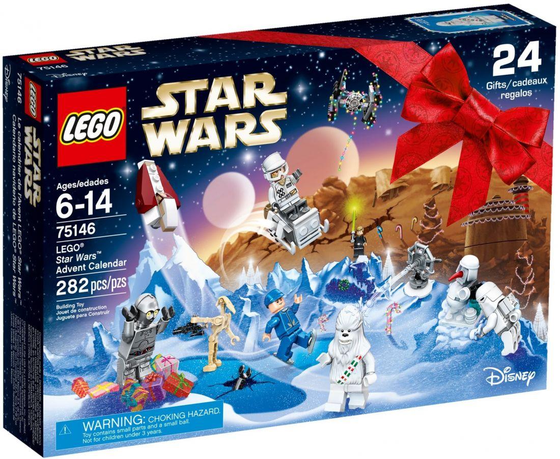 Рождественский календарь Звёздные войны 2016. Конструктор ЛЕГО 75146