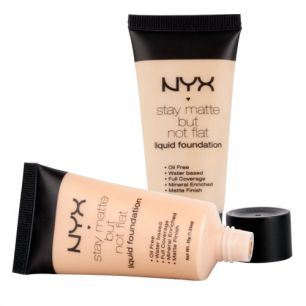 Тональная основа - NYX Stay Matte But Not Flat Liquid Foundation 30ml тон 05