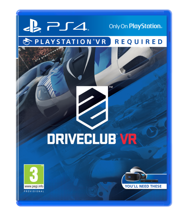 Игра Driveclub VR (только для VR) (PS4, русская версия)