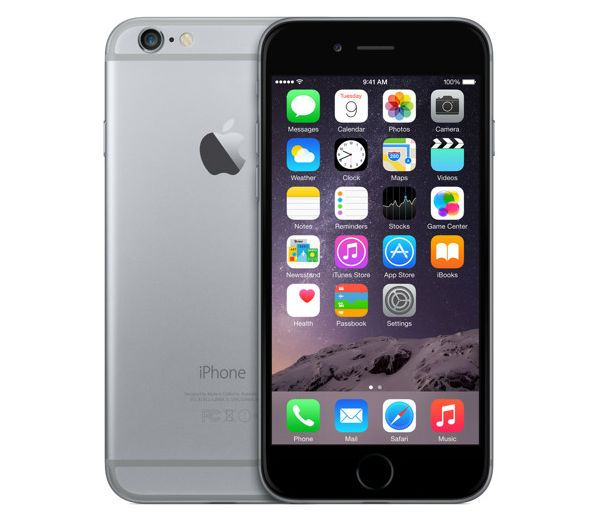 Apple iPhone 6 16Gb черный