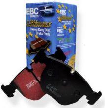 Тормозные колодки EBC, серия Ultimax Black Stuff