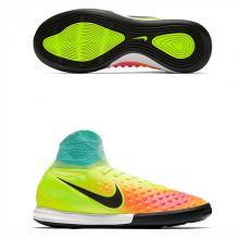 Детские футзалки Nike MagistaX Proximo II IC салатовые