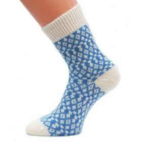 Носки женские вязаные пуховые 206