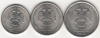 Набор 1,2,5 рублей 2010 спмд