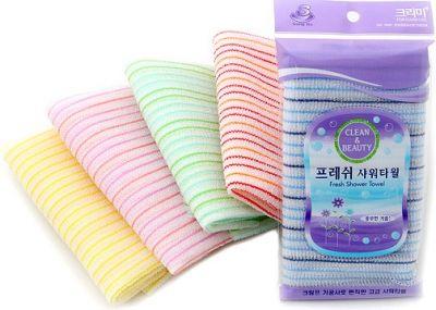 Корейская мочалка для душа CLEAN&BEAUTY