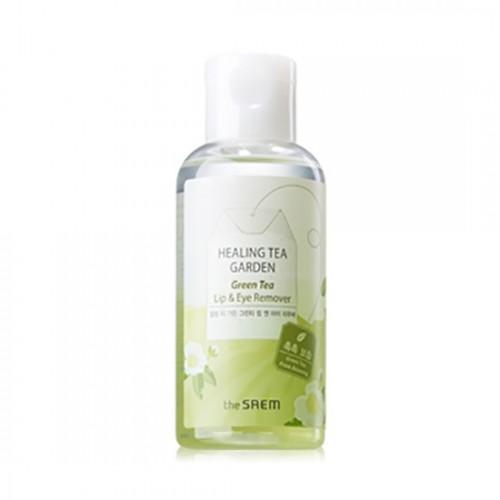 Жидкость для снятия макияжа с глаз и губ THE SAEM Healing Tea Garden White Tea Lip & eyes Remover