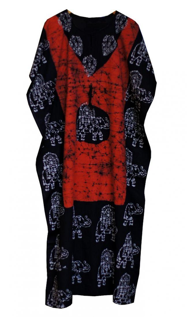 Разные цвета! Длинное индийское безразмерное платье (СПб)