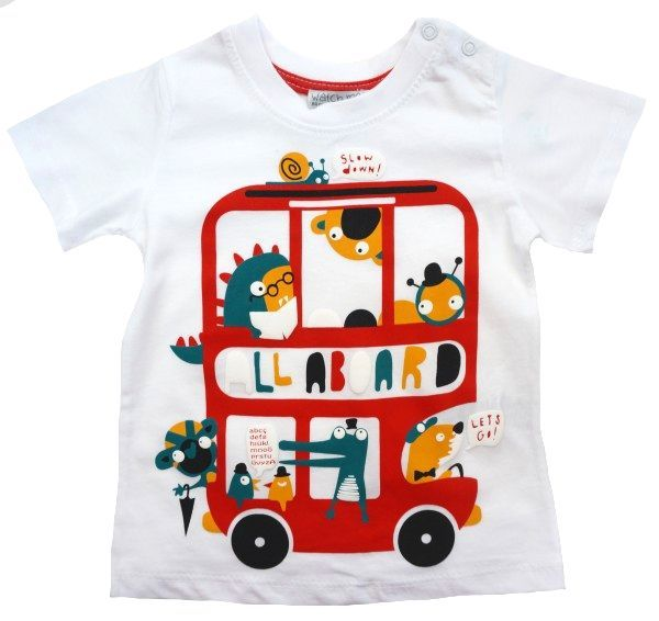 Футболка для мальчика Необычный автобус