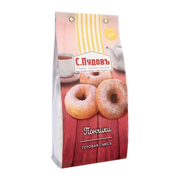 ПУДОВ Пончики смесь мучная 400 г