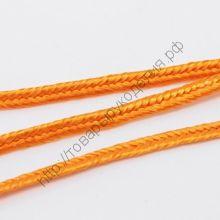сутаж оранжевый 3мм рулон 5м