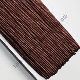 сутаж коричневый 3мм рулон 5м