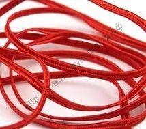 сутаж красный 3мм рулон 5м