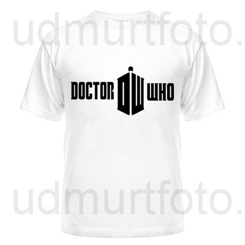 Футболка мужская Doctor Who Logo