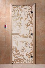 Дверь для бани DoorWood Венеция Сатин