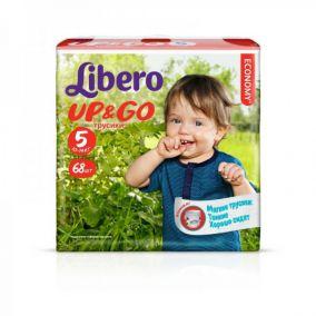 Трусики-подгузники Libero Up&Go 5 (10-14 кг) 68 шт.