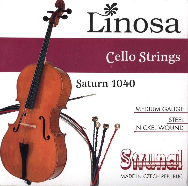 STRUNAL 1040-4/4 Saturn Linosa Струны для виолончели