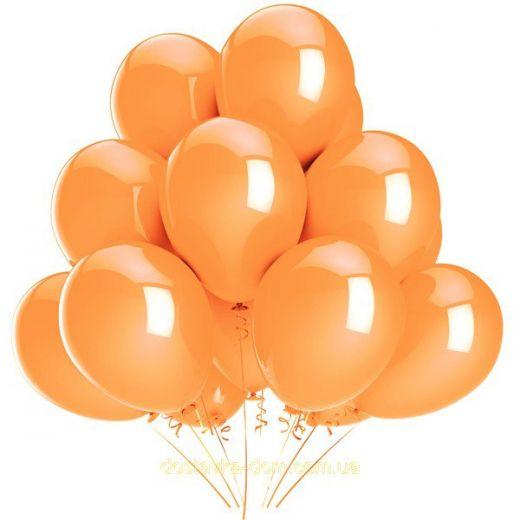 Гелиевый шар персиковый