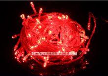 Светодиодная гирлянда уличная 10 метров Красная