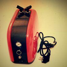 Компрессор 1215, с регулятором давления, автоматика, ресивер 0, 2 л