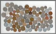 83 зарубежных монеты