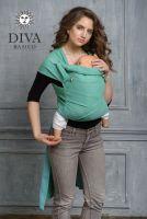 Diva Basico Lime май-слинг с капюшоном
