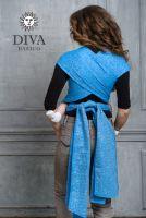 Diva Basico Oltremare май-слинг  с капюшоном