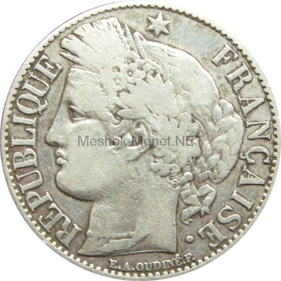 Франция 1 франк 1895 г.