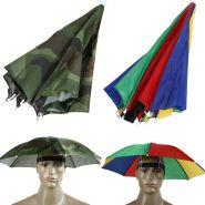 Складной зонт-шляпа от дождя и солнца 55 см