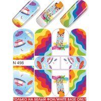 Слайдер-дизайн N498 (водные наклейки)