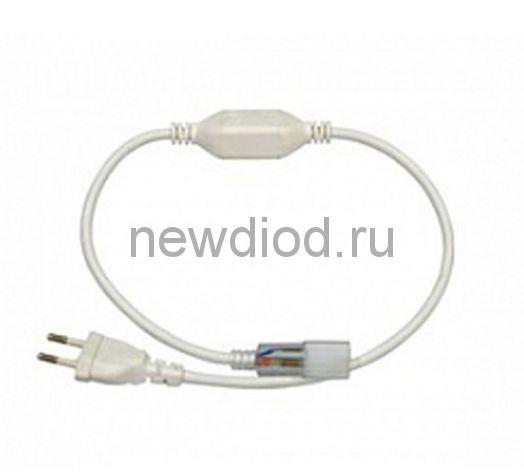 Сетевой шнур для СД ленты SMD 5050, 220 V с иголкой