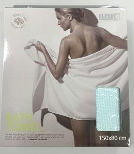 Smart Microfiber Полотенце банное вафельное 80 х 150 см салатовое