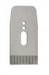 Нож зубчатый для рубанков Veritas LA JackPlane BevelUp 57 мм (А2) 38 град с насечкой 25 tpi 05P34.07 М00011258