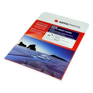 Фотобумага Agfa - А4 сатин, плотность 260 г/кв.м, 20 листов