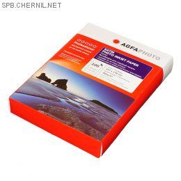 Фотобумага Agfa - 13х18 сатин, плотность 260 г/кв.м, 100 листов