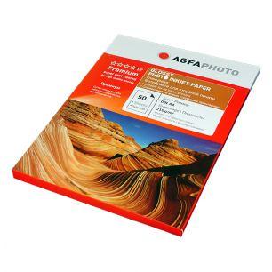 Фотобумага Agfa - А4 глянцевая, плотность 210 г/кв.м, 50 листов