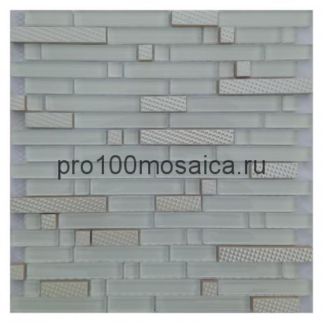 Winter Line. Мозаика серия METAL, размер, мм: 298*298*8 (ORRO Mosaic)