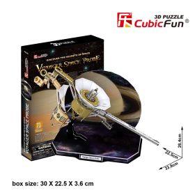 """3D пазлы """"Космический зонд Вояджер"""" 71 деталь CUBICFUN"""