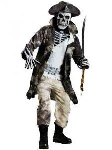 Костюм пират скелет