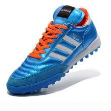 Шиповки для футбола adidas Mundial Team голубые