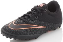 Детские шиповки-сороконожки Nike MercurialX Pro TF Junior чёрные