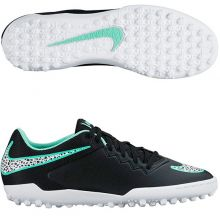 Шиповки-сороконожки Nike HypervenomX Pro TF чёрные