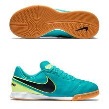 Детские футзалки Nike Tiempo Legend VI IC бирюзовые