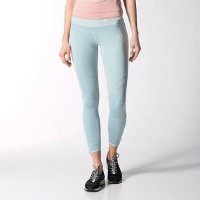 Женские леггинсы adidas Run 7/8 Tight голубые