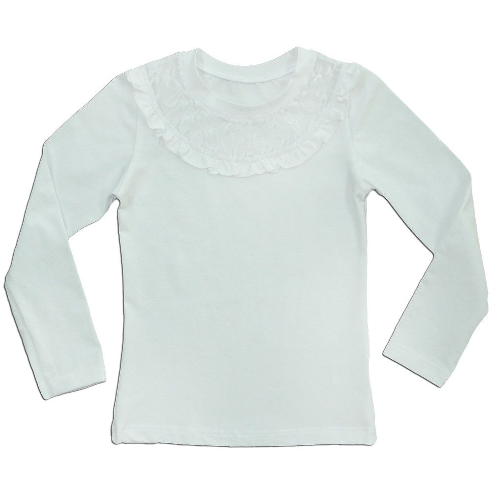 Блуза белая для девочки