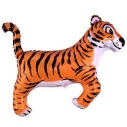 Шар Тигр фольгированный с гелием